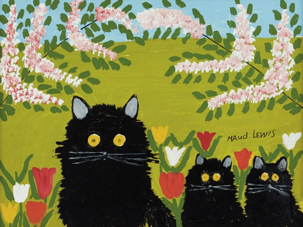 maudie still three-black-cats